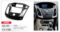 "Рамка монтажная CARAV 11-158 (FORD Focus III, C-Max 2011+ (with 3.5"" display))"